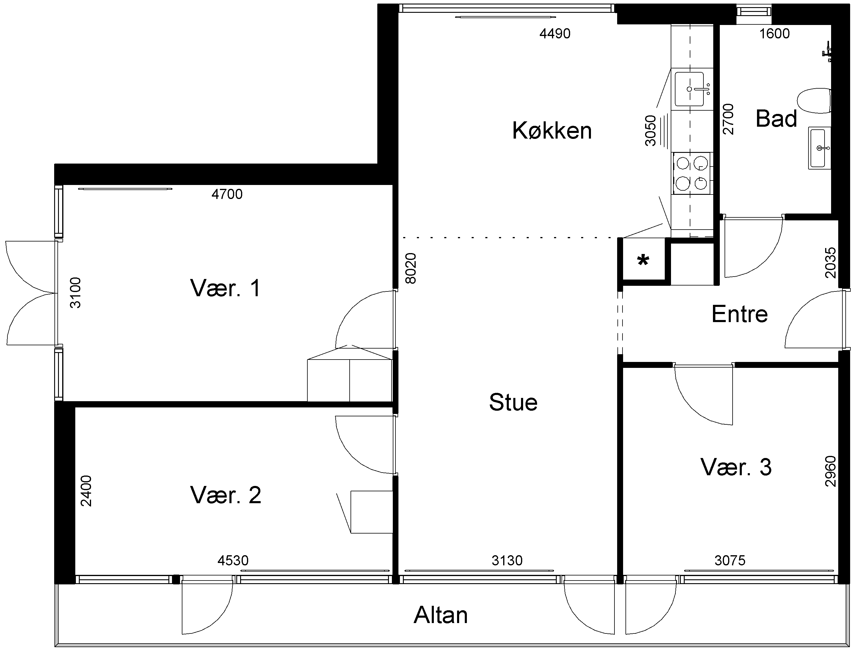 Lejlighed 105