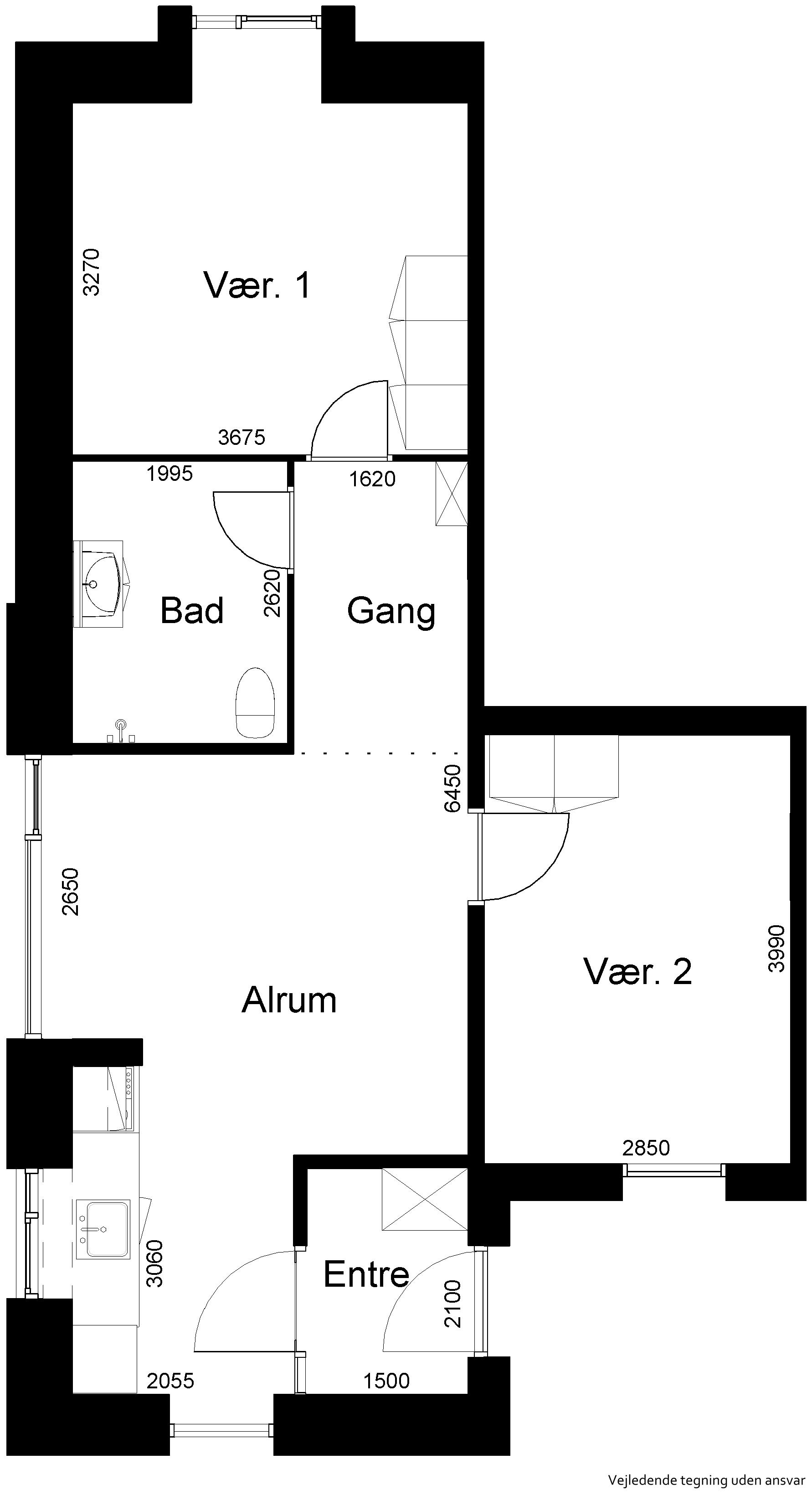 Lejlighed 709