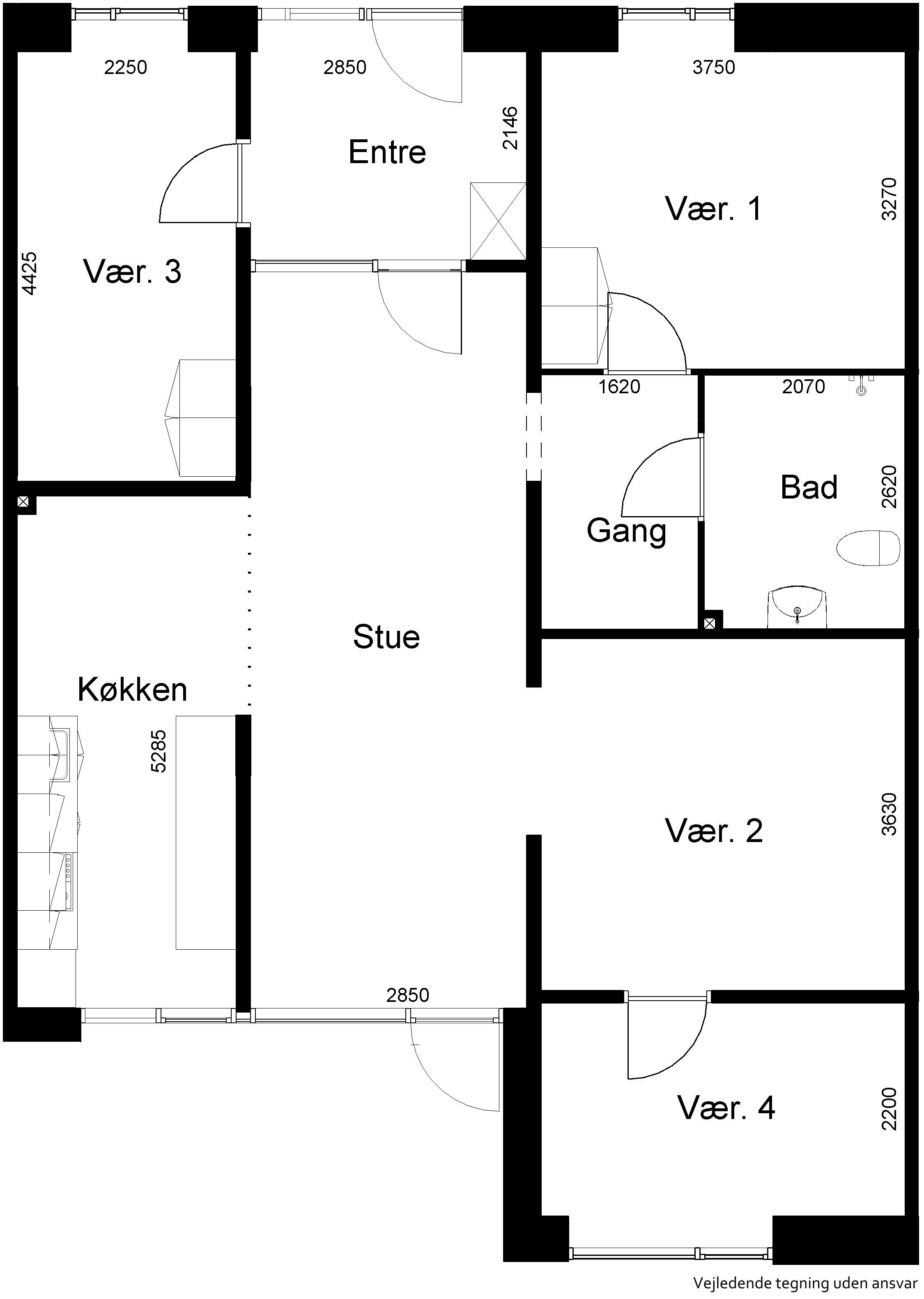 Lejlighed 672