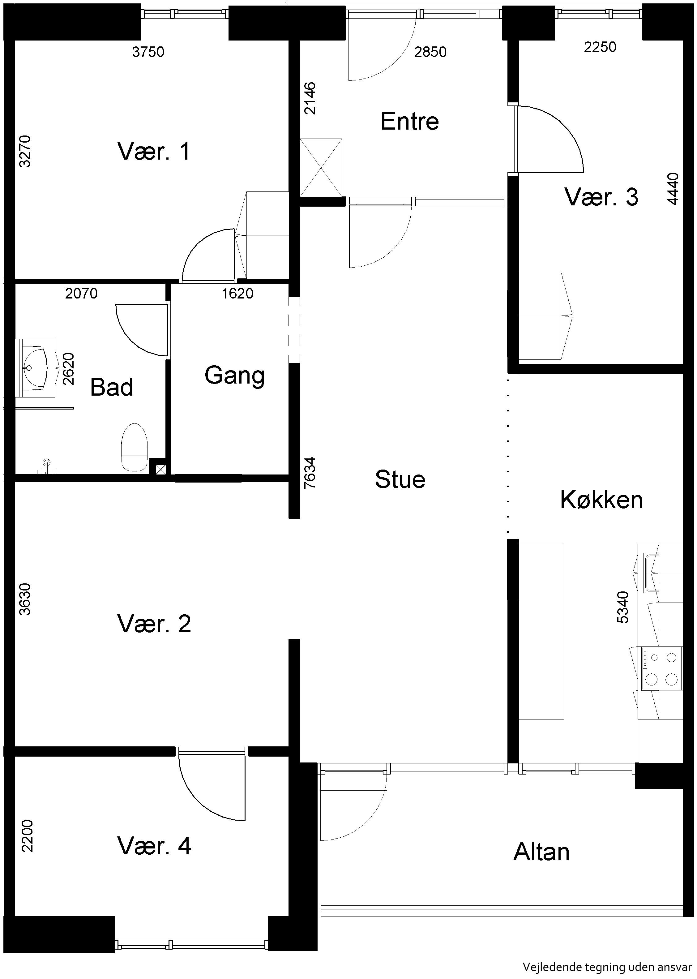 Lejlighed 679