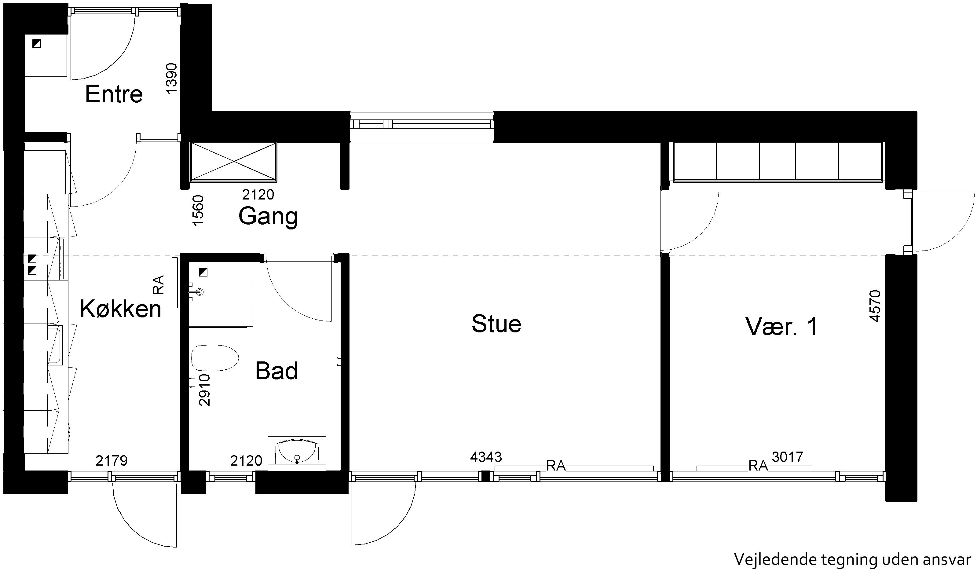 Lejlighed 866