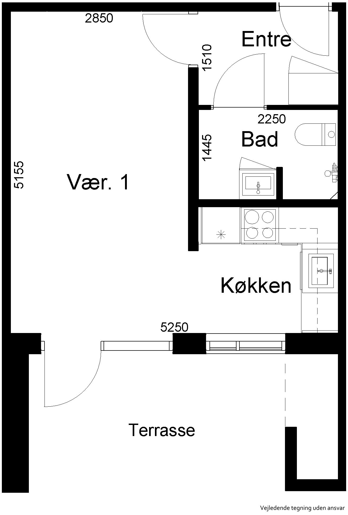 Lejlighed 551