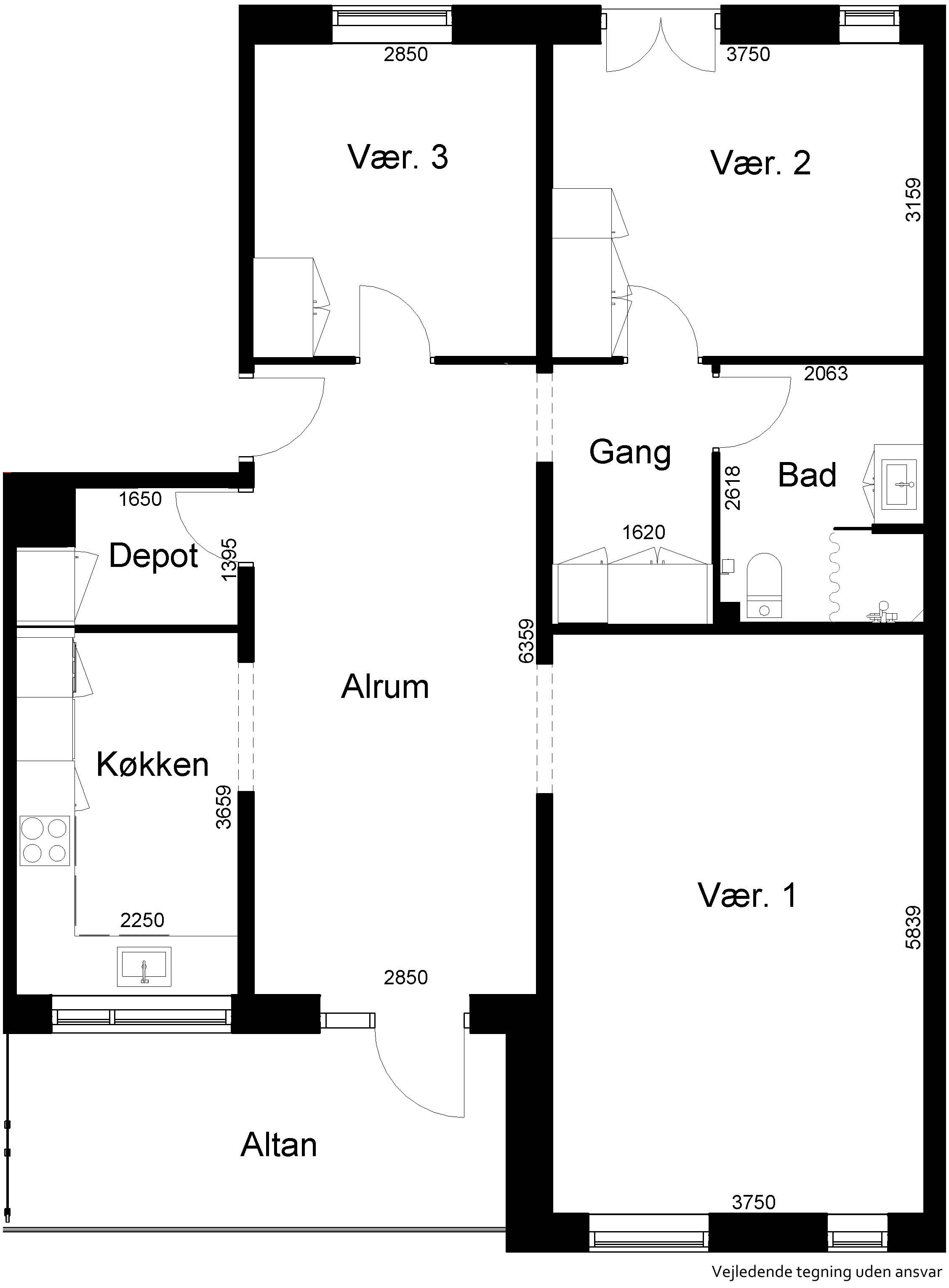 Lejlighed 567