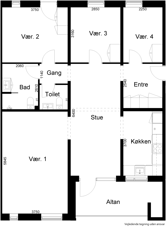 Lejlighed 559