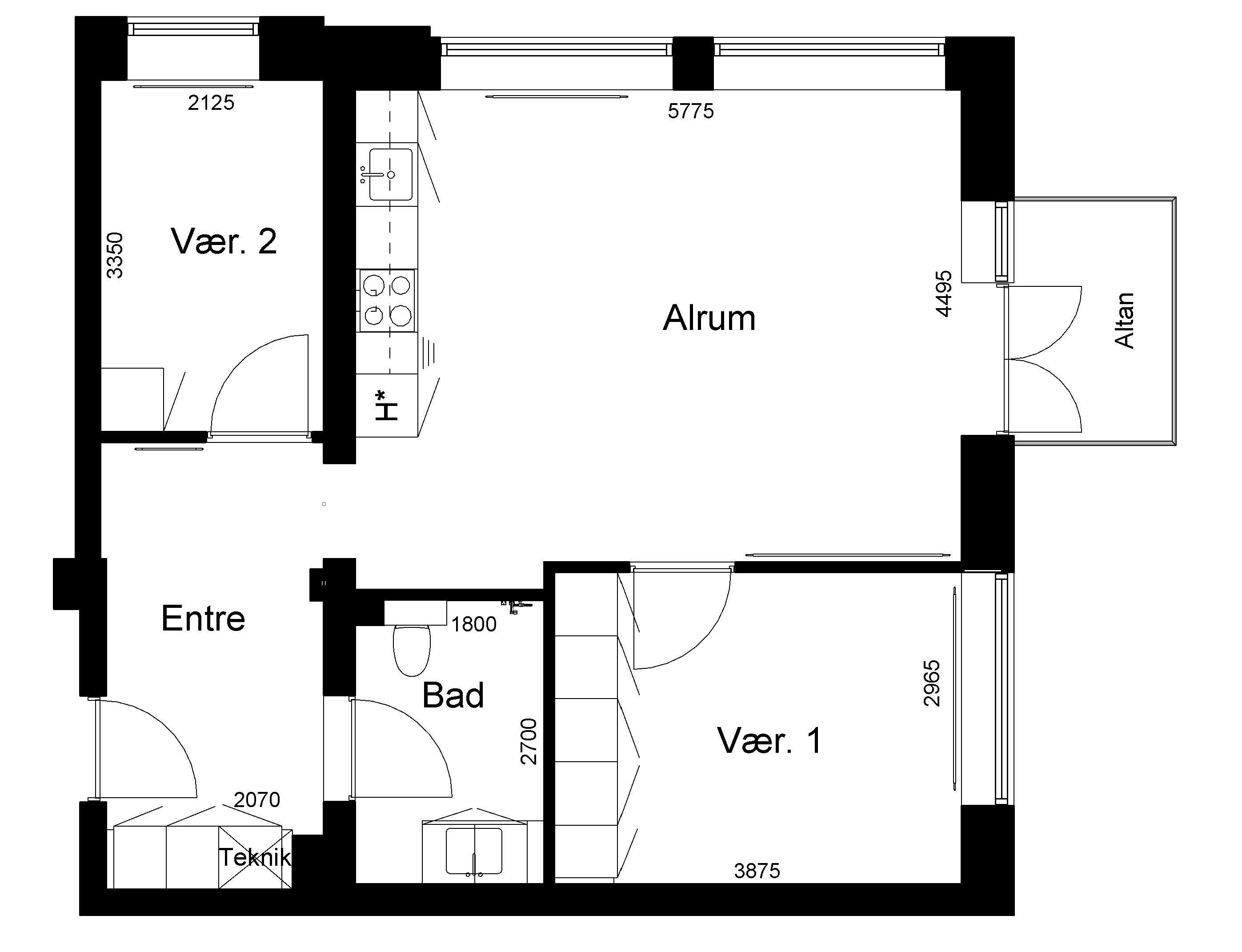 Lejlighed 141