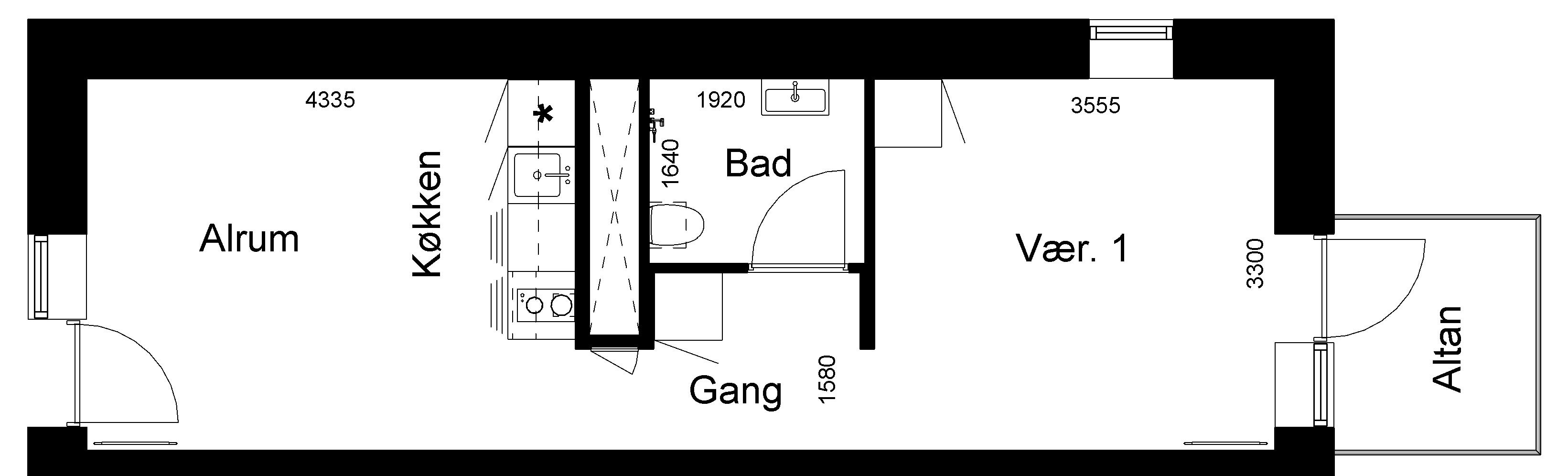 Lejlighed 232